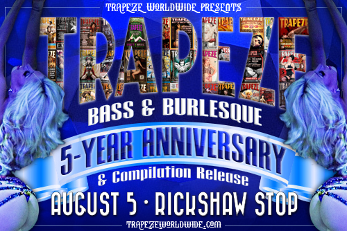 Trapeze Worldwide's 5-Year Anniversary Soiree! August 5, 2017, at Richshaw Stop in San Francisco