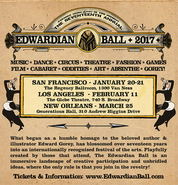 The Klown headlines The Edwardian Ball 2017