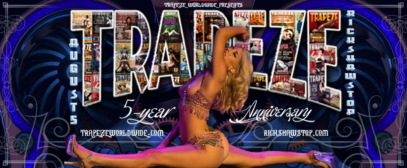 The Klown DJs at Trapeze Worldwide's 5-Year Anniversary Soiree! August 5, 2017, at Richshaw Stop in San Francisco