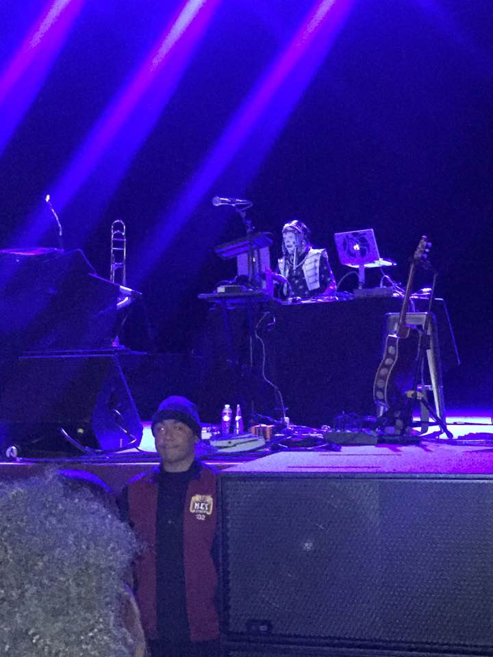 The Klown DJing at the Fox Theater with Caravan Palace & Trapeze Worldwide