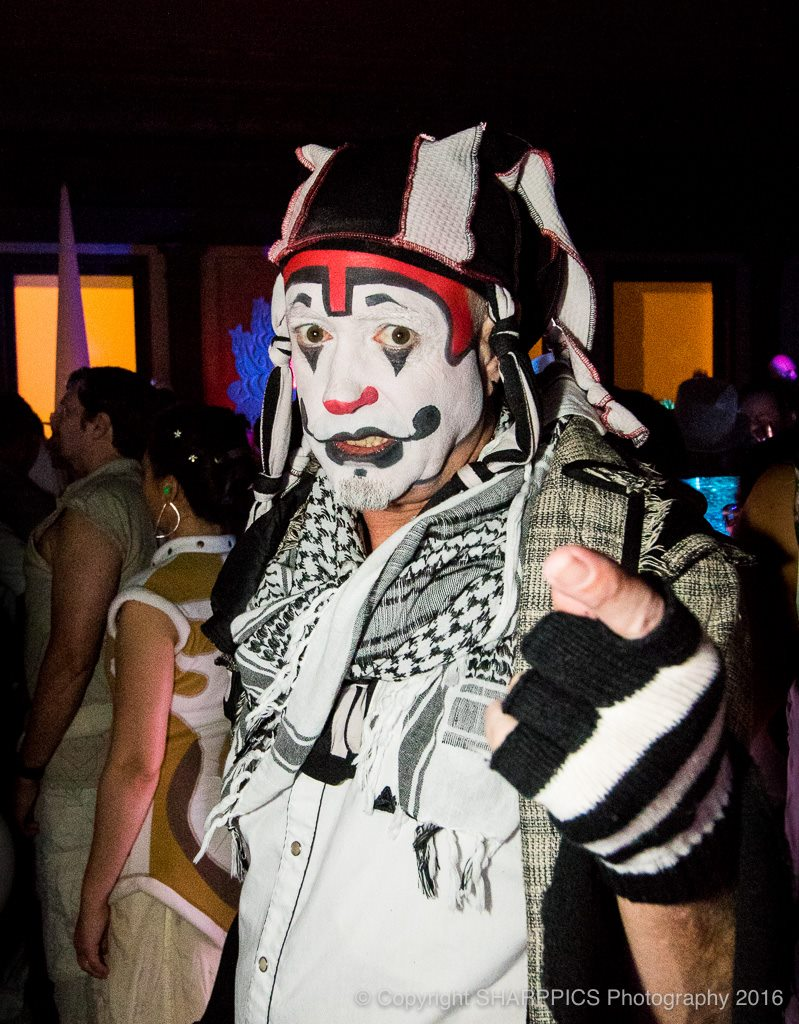 The Klown at Opulent Temple's White Party