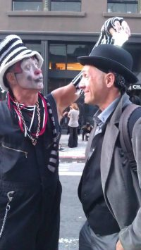 The Klown at How Weird Street Fair in San Francisco