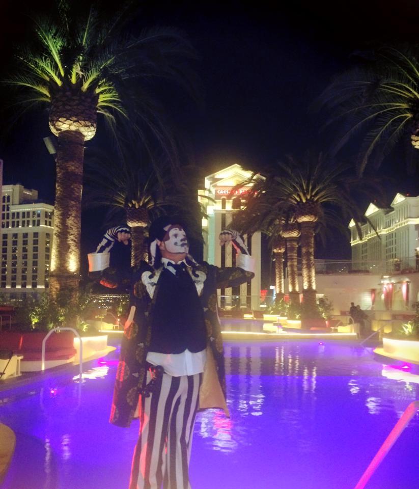 The Klown DJing at Drai's in Las Vegas, with Vau de Vire Society