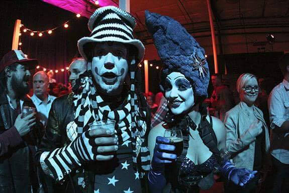 The Klown & Fou Fou Ha!'s Elektra performing at Deschutes Brewing Company party