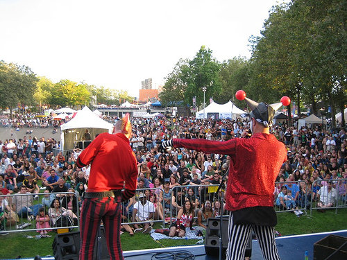 The Klown with Gooferman at Bumbershoot Festival