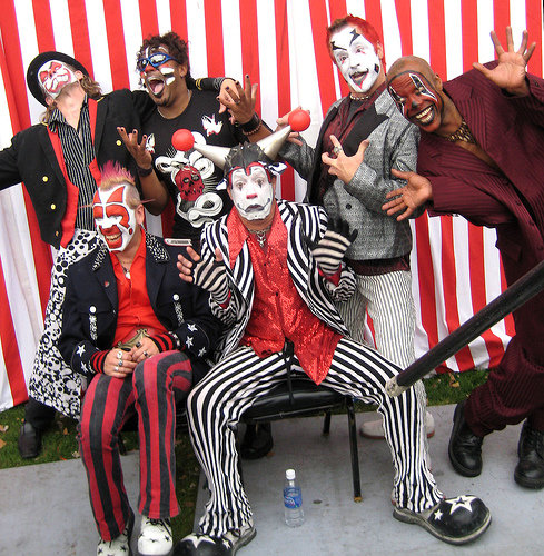 The Klown with Gooferman at Download Festival
