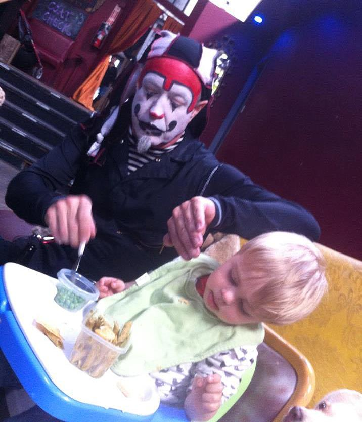 The Klown & the pygmy