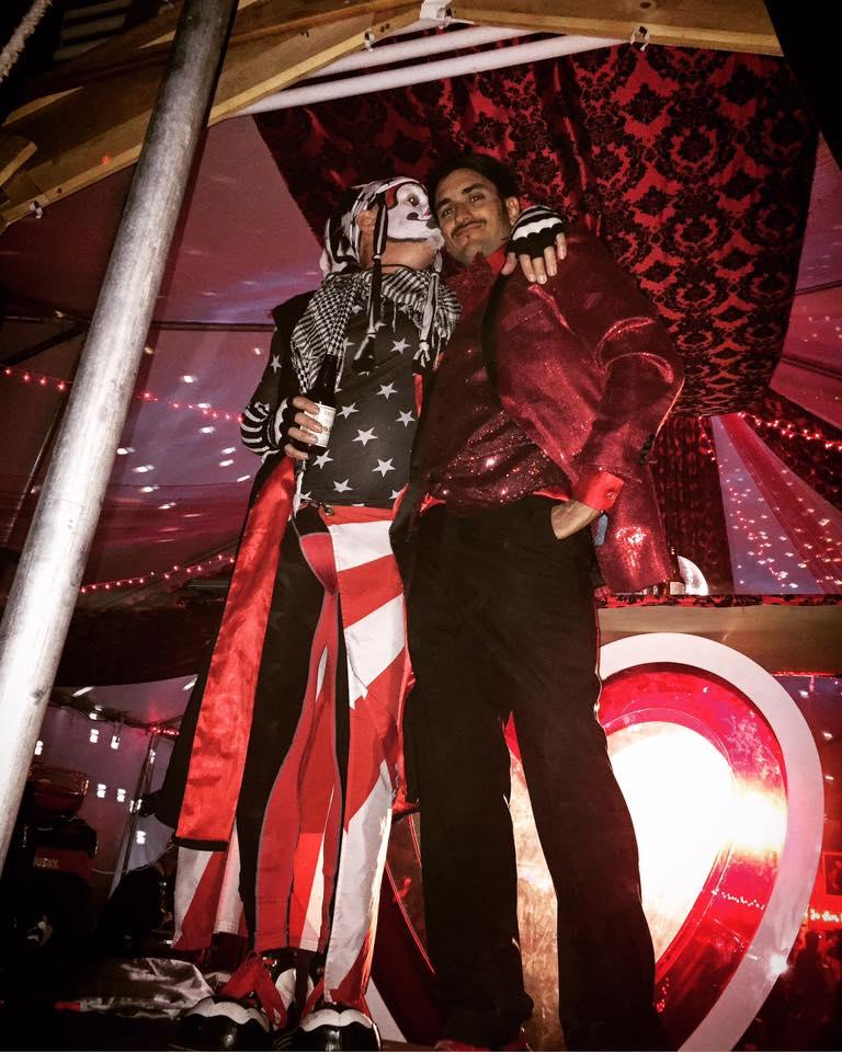 The Klown & Paul E. Amori - Amori's Casino at Lightning In A Bottle