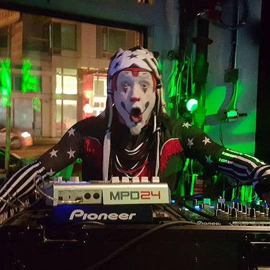 The Klown DJing at Codename in San Francisco