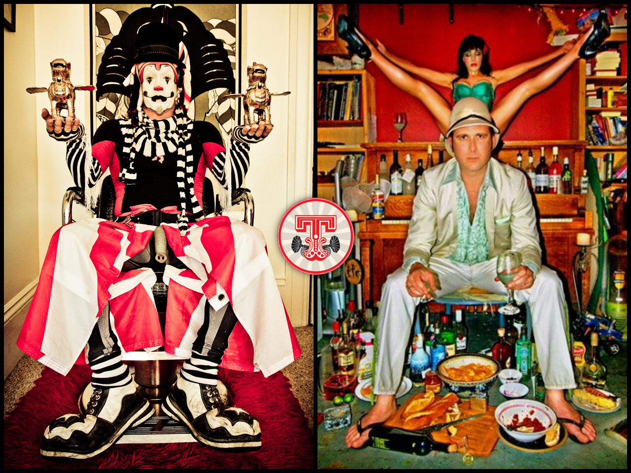 The Klown and Delachaux - Co-Producers & Resident DJs - Trapeze Worldwide