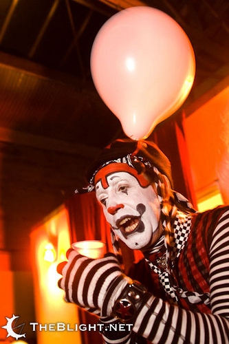 The Klown with Vau de Vire Society - Photo by Neil Girling