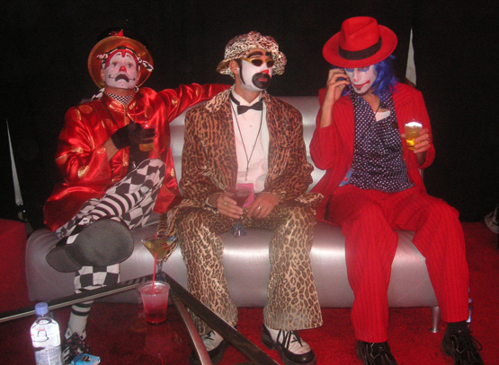 The Klown with Gooferman at Vegoose Festival in Las Vegas, NV