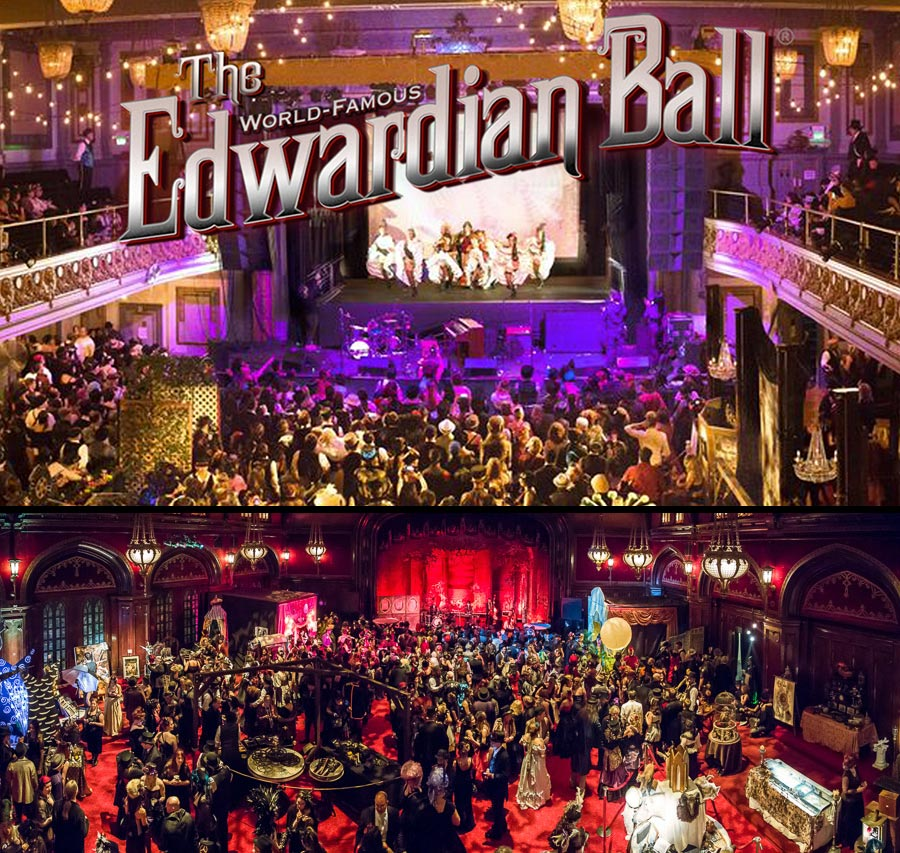 Edwardian Ball SF & LA 2018