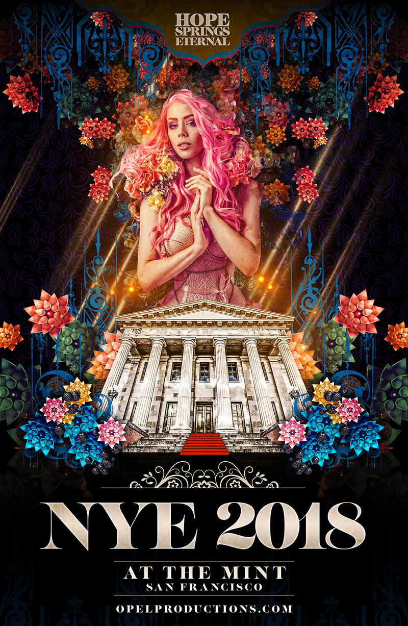 The Klown - DJ and live sets at New Bohemia NYE - December 31, 2017 - The Mint in San Francisco