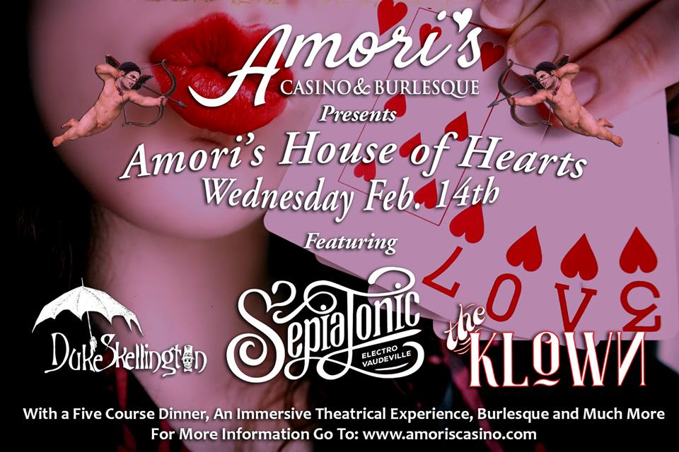 The Klown at Amori's House of Hearts - February 14, 2018 - Magnus Loft in Los Angeles