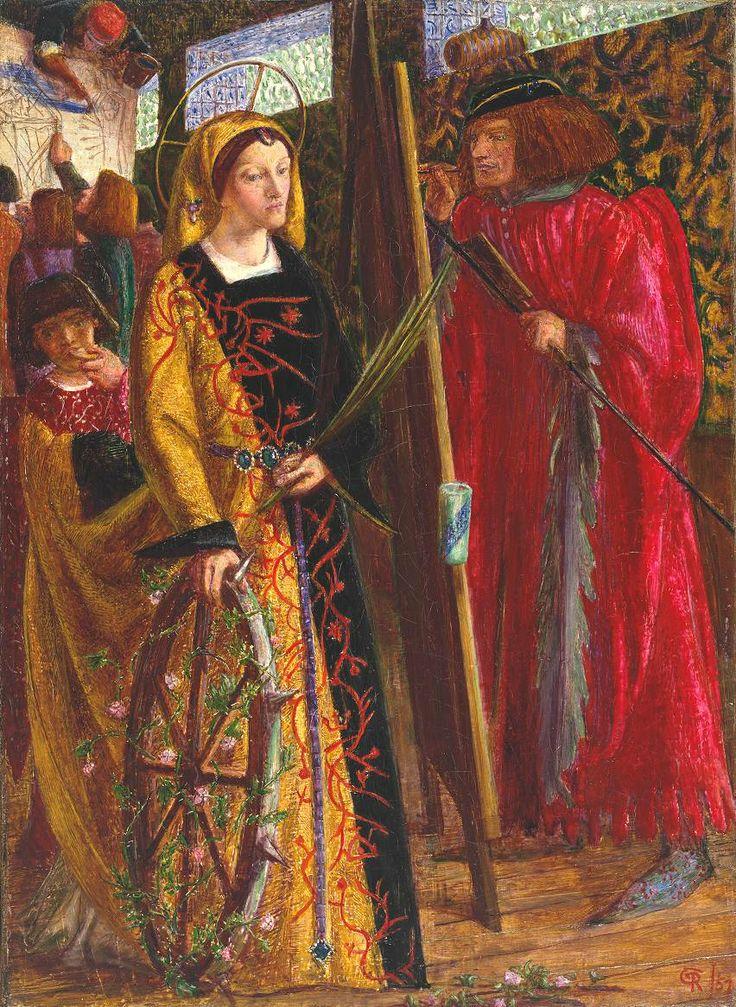 Dante Gabriel Rossetti - St Catherine