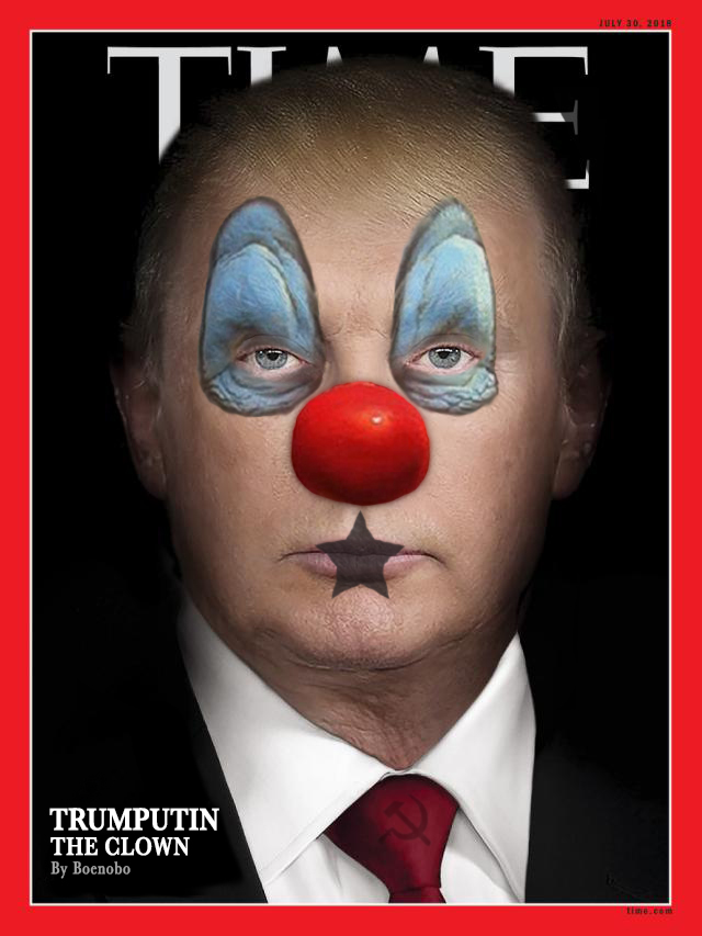 Trumputin the Clown - by Boenobo