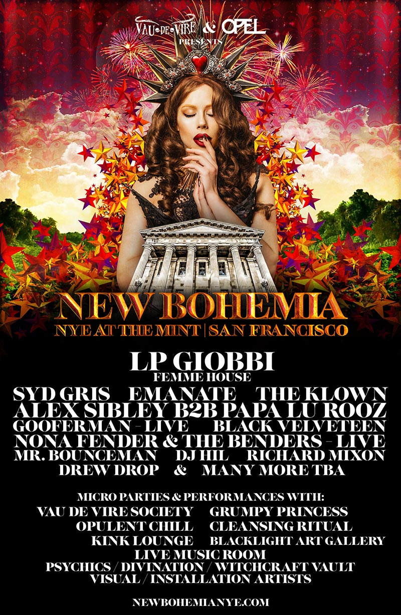 The Klown's Zjit Zjo & Gooferman perform at New Bohemia NYE - December 31, 2018 - The Mint in San Francisco