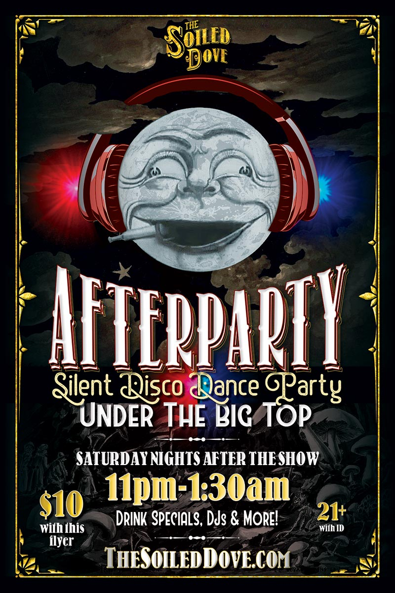 The Klown DJs at The Soiled Dove Silent Disco Afterparty - Saturday, October 12, 2019 - Tortona Big Top in Oakland, California