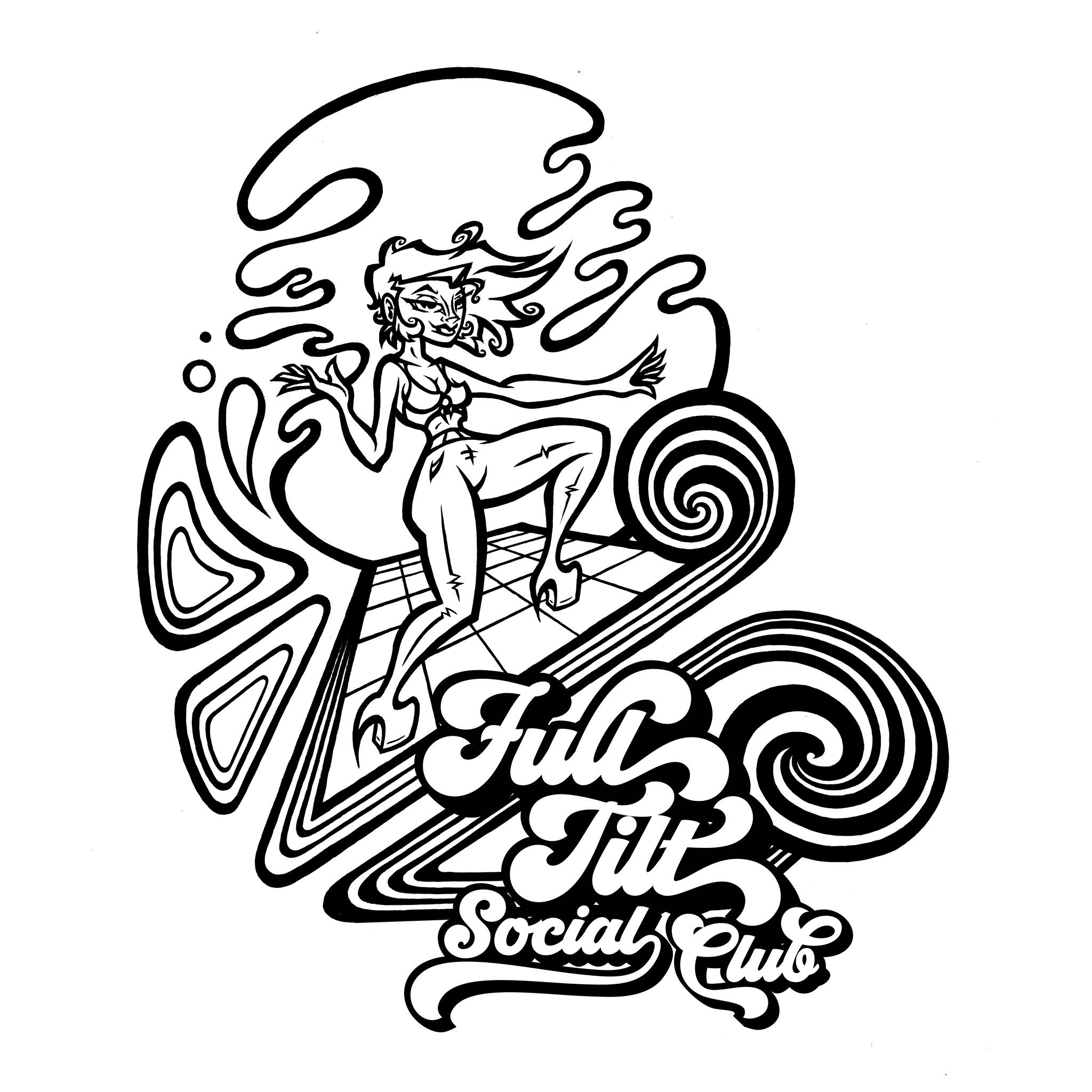 The Klown DJ's the Full Tilt Social Club - livestreamed May 1, 2020